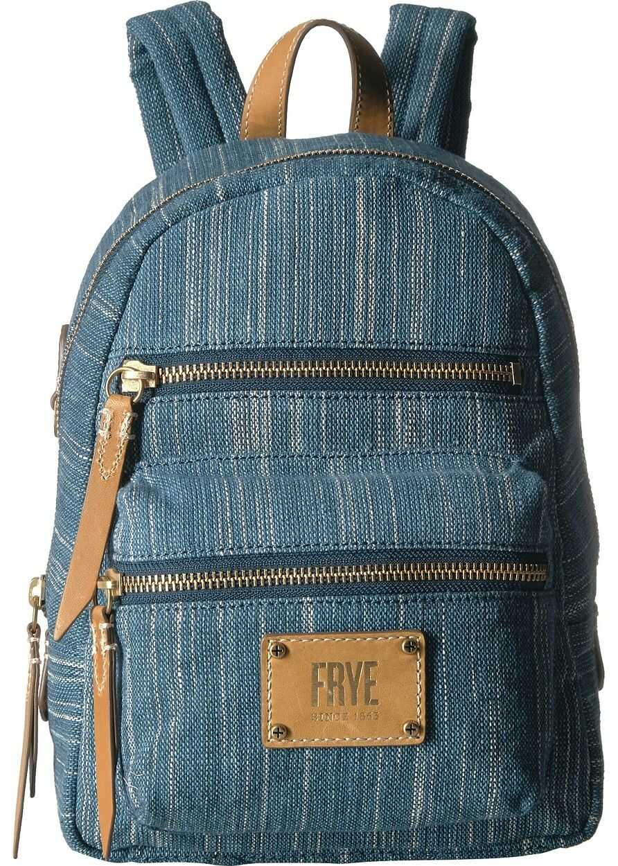 Frye Ivy Mini Backpack Denim