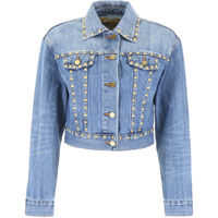 Jachete Studded Denim Jacket Femei
