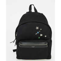 Rucsacuri Fabric Backpack with Applications Barbati
