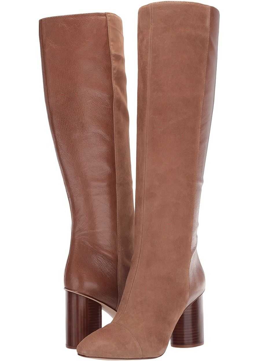 Nine West Cheyin Natural/Light Brown Suede