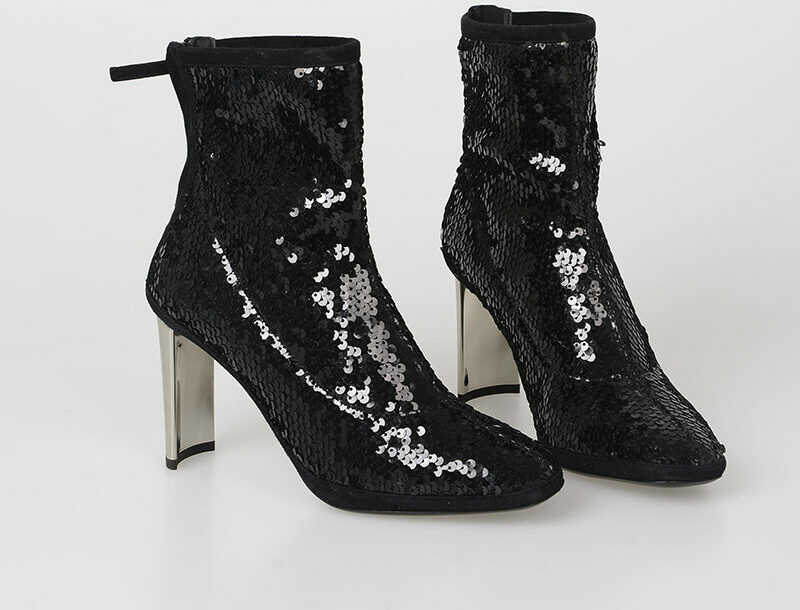 Giuseppe Zanotti 9cm Sequined RUGGENTE Boots N/A
