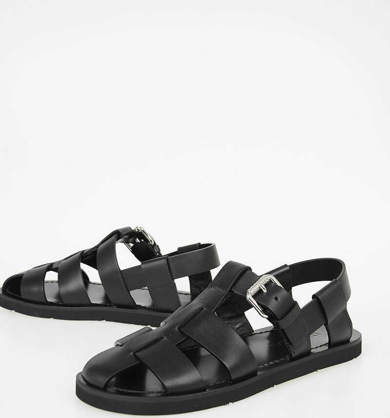 Prada Leather Sandals N/A