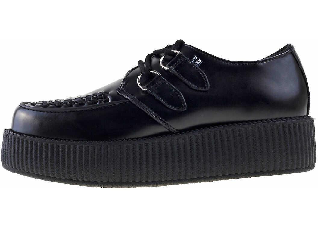 TUK T.u.k Viva Hi Sole Creeper Unisex Shoes In Black* Black