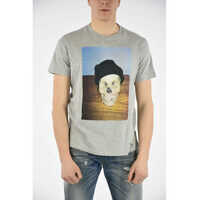 Tricouri Skull Printed T-JOE-SK T-shirt Barbati