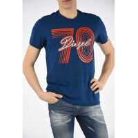 Tricouri Cotton Blend T-DIEGO-SQ T-shirt Barbati