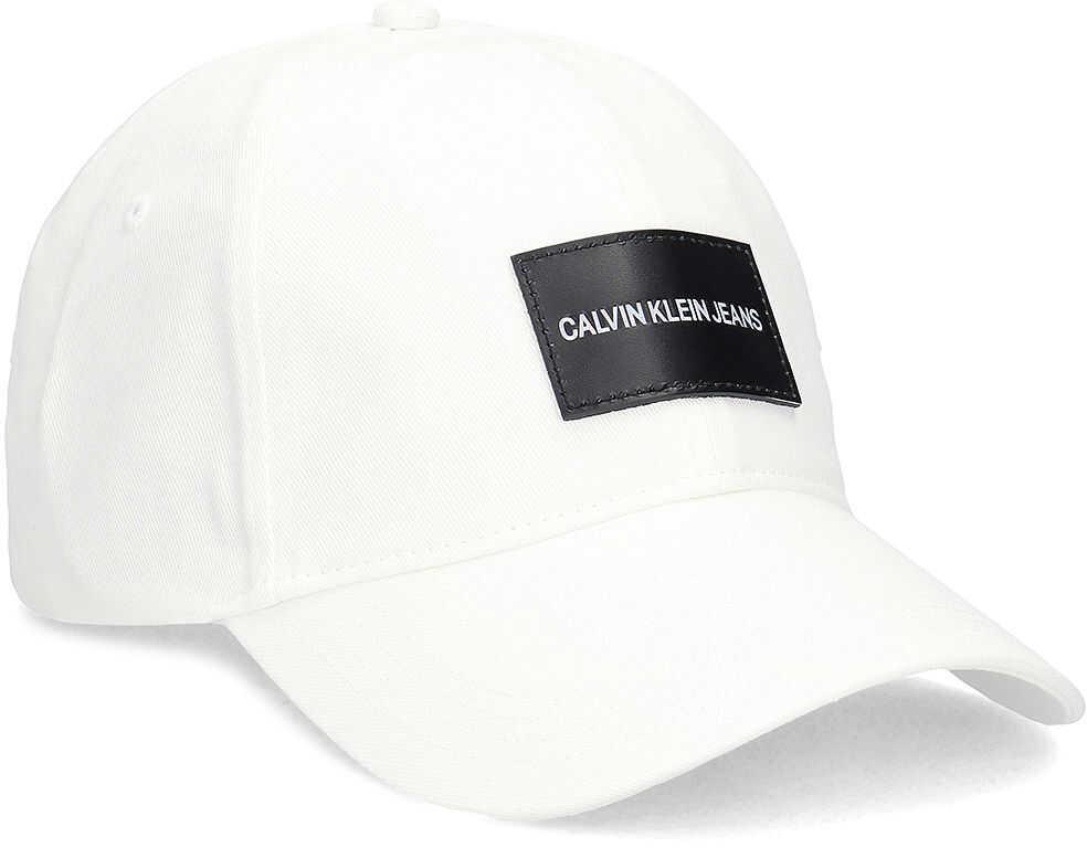 Calvin Klein Jeans Cap - Czapka Męska Biały