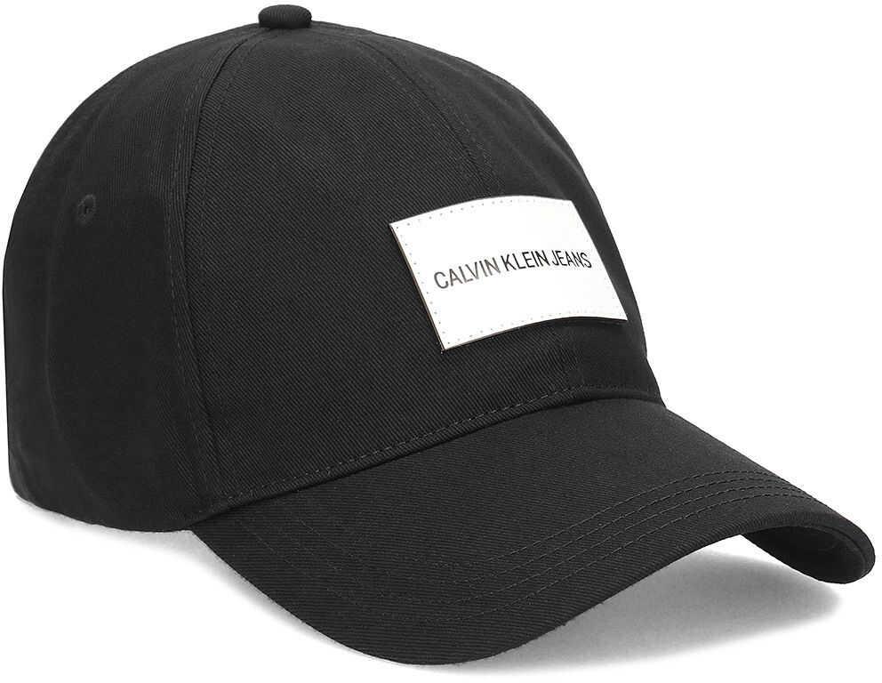 Calvin Klein Jeans Cap - Czapka Męska Czarny