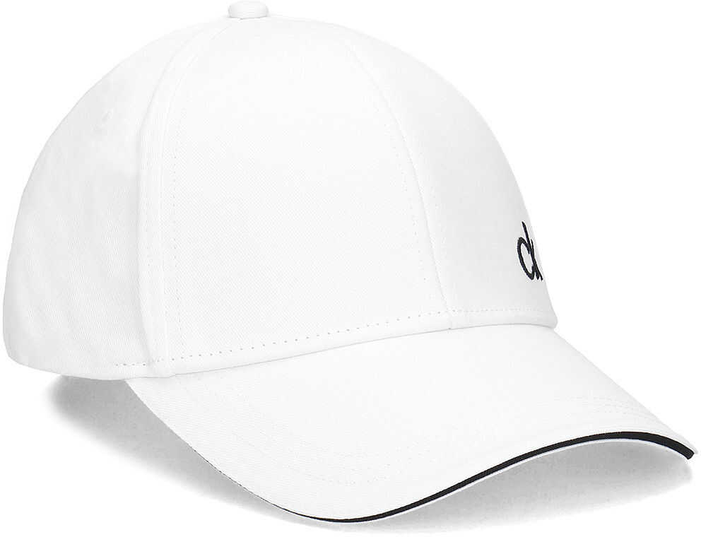 Calvin Klein Contrats Edge Cap - Czapka Męska Biały