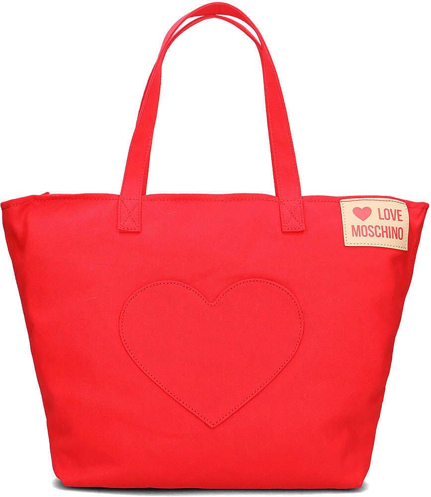 LOVE Moschino Heart Pocket Czerwony