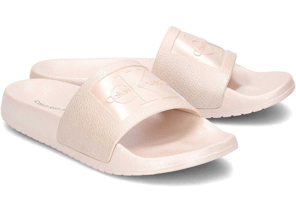 Calvin Klein Jeans Christie Metallic Różowy