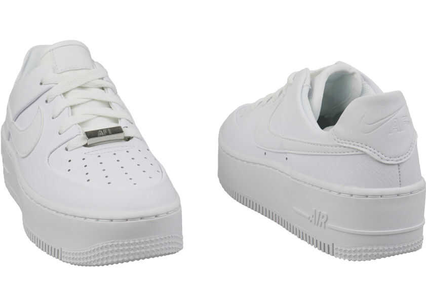 6b7c02e6ce56c0 Tenisi   Adidasi Nike Air Force 1 Sage Low White Femei - Boutique ...