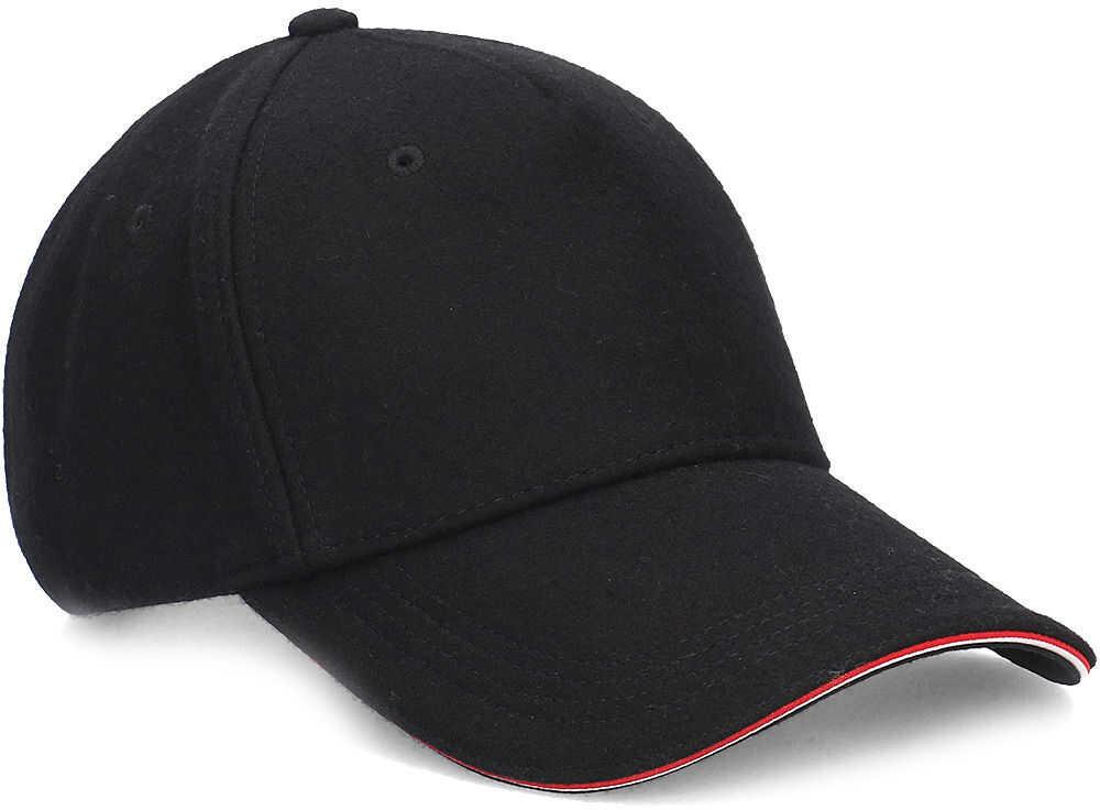 Tommy Hilfiger Melton Corporate Cap - Czapka Męska Czarny