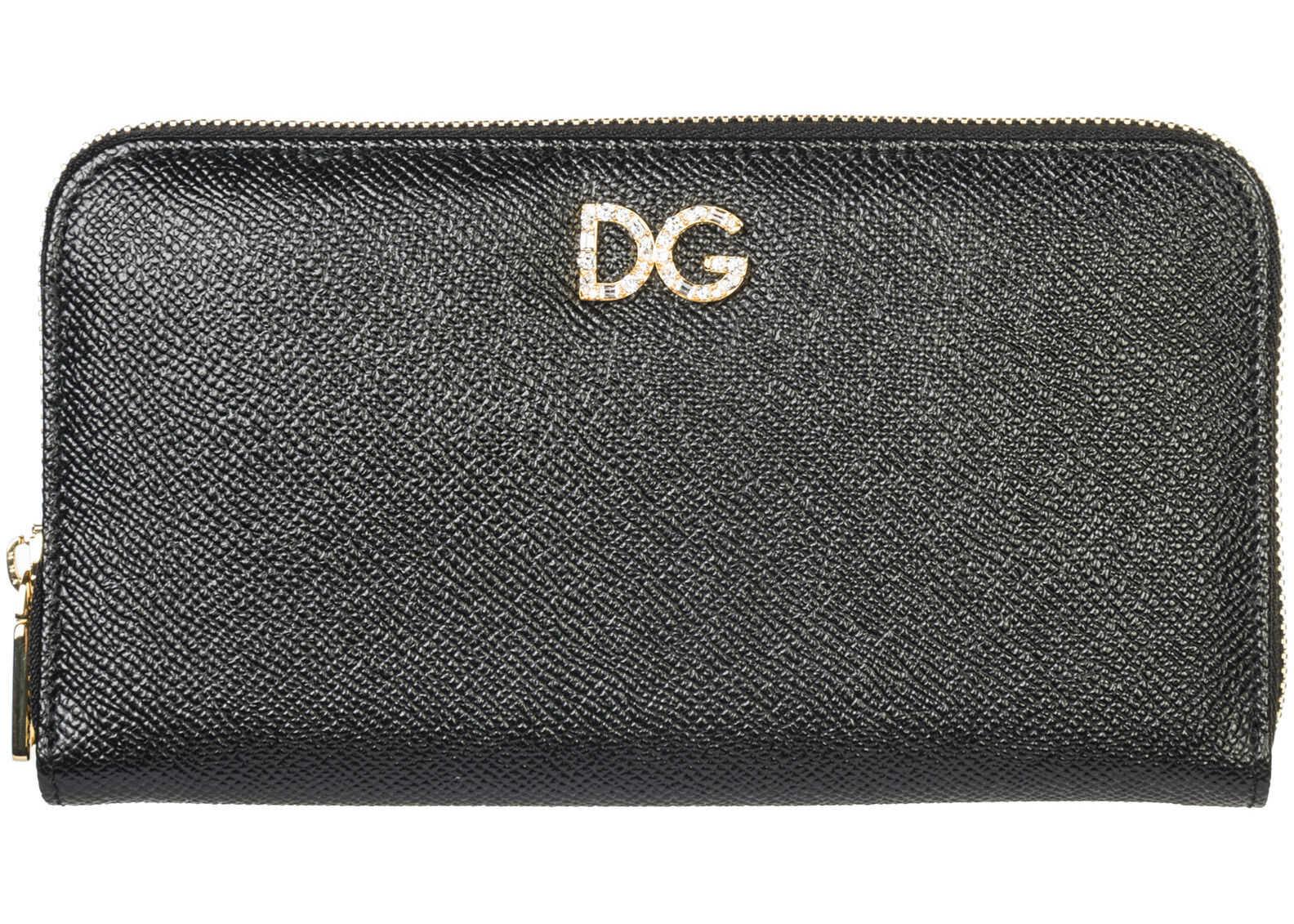 Dolce & Gabbana Card Trifold Black