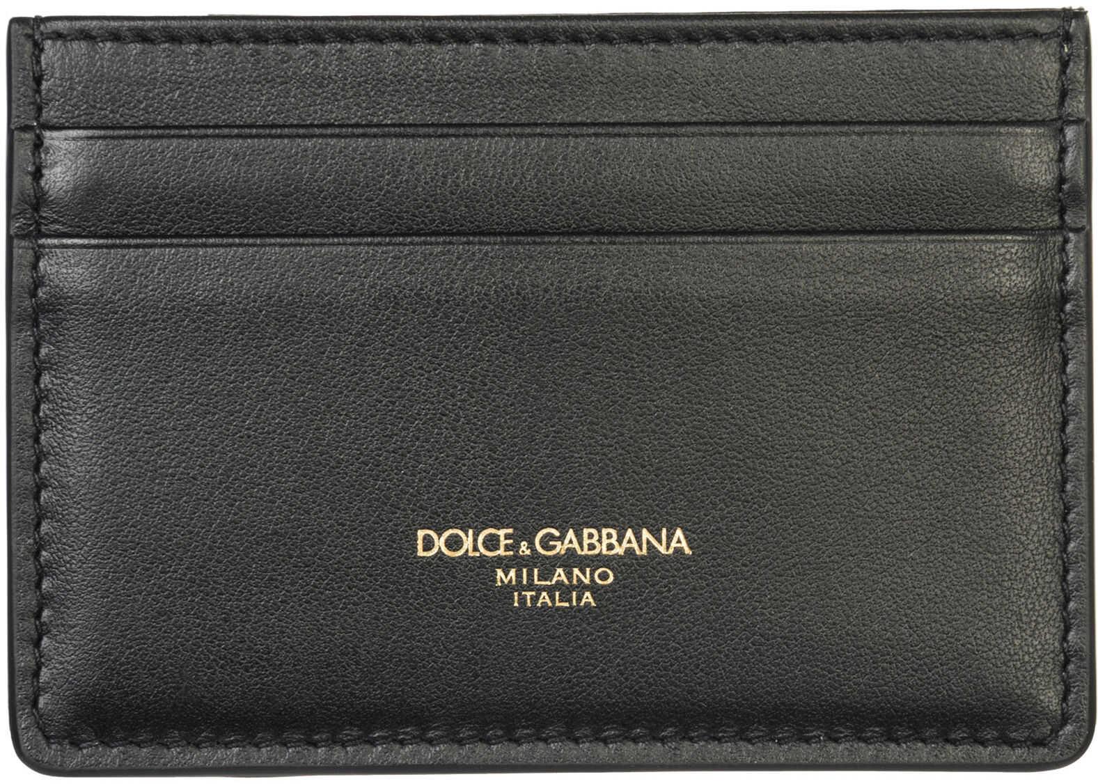 Dolce & Gabbana Clip Wallet Black