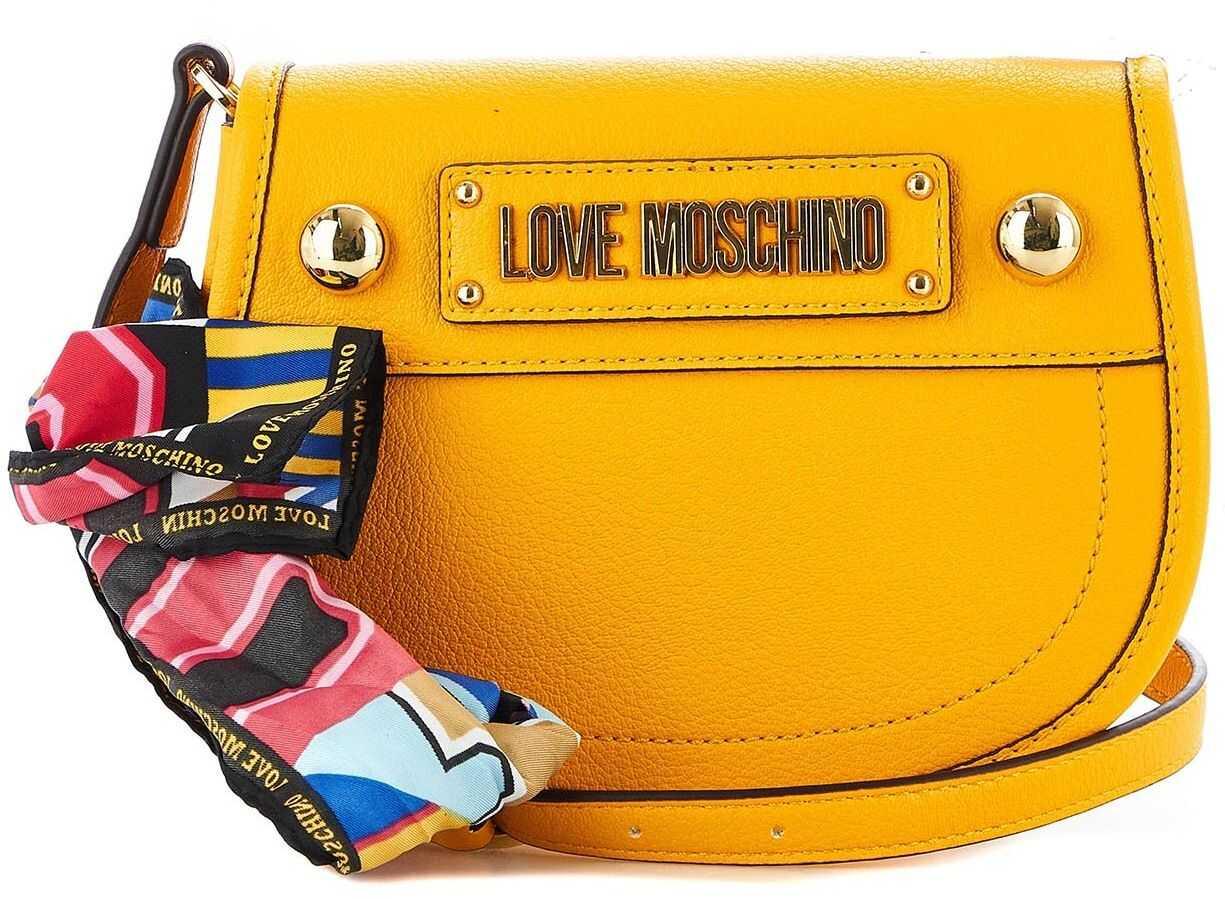 LOVE Moschino Saddle bag Mustard