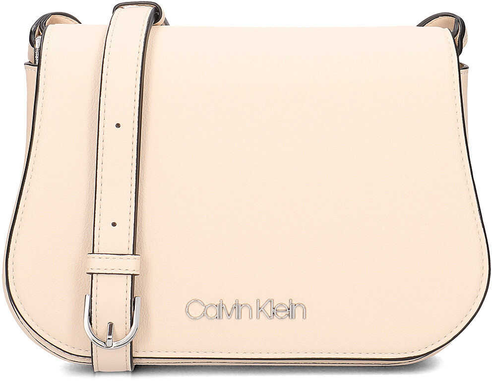 Calvin Klein Slide Saddle Bag Beżowy