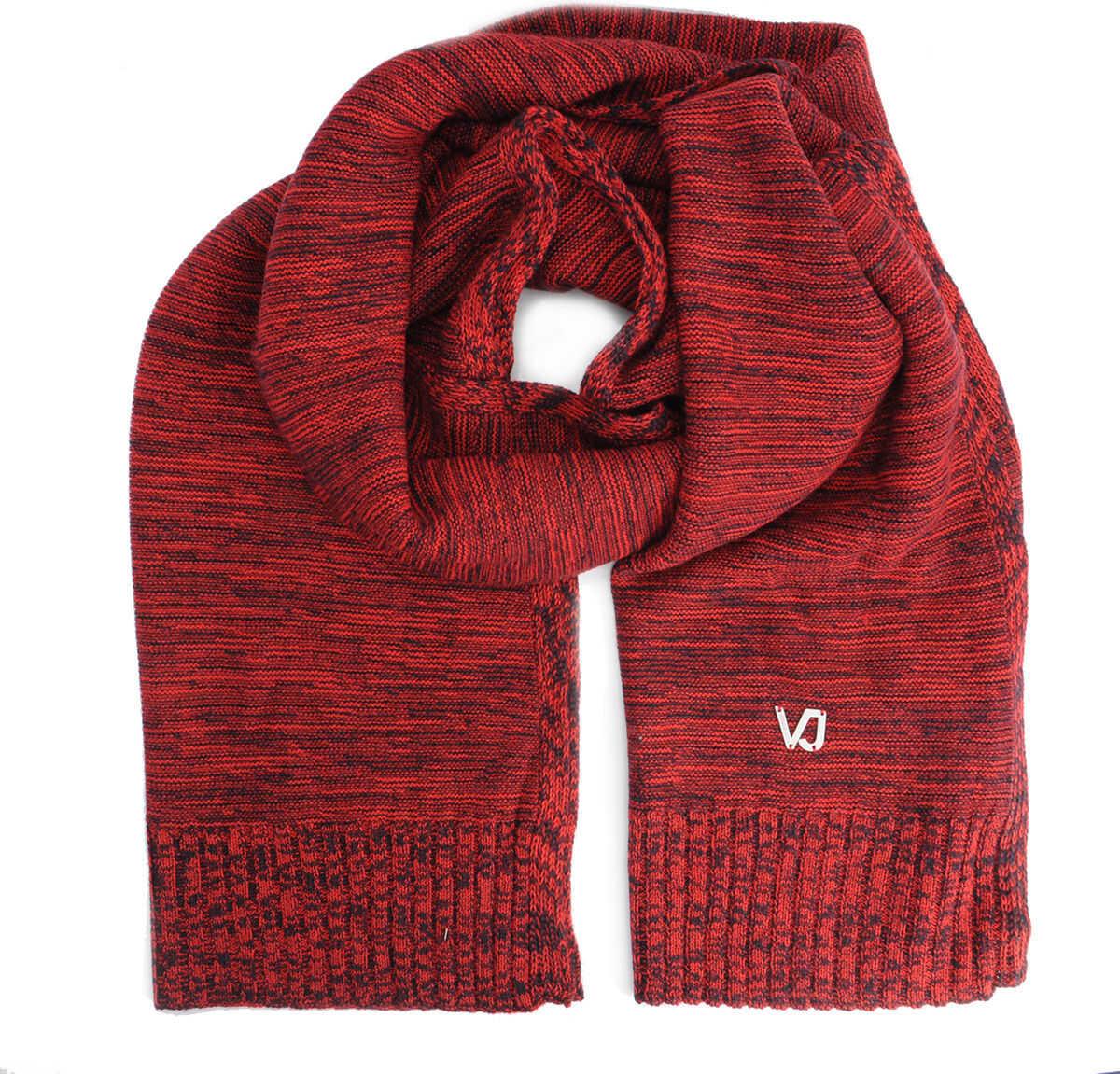 Versace Jeans Szal Czarny, Czerwony
