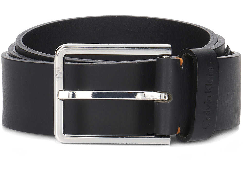 Calvin Klein 3.5cm Essential Plus Belt Czarny