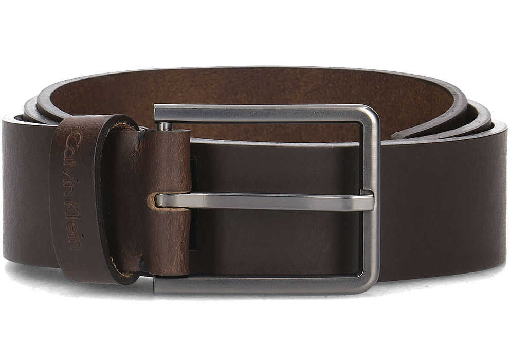 Calvin Klein 3.5cm Essential Plus Belt Brązowy