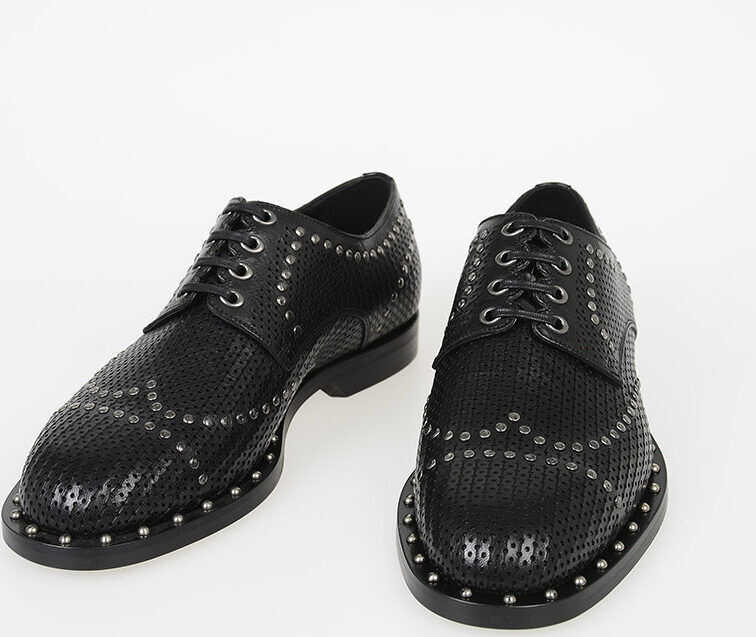 Dolce & Gabbana Derby with Stud BLACK