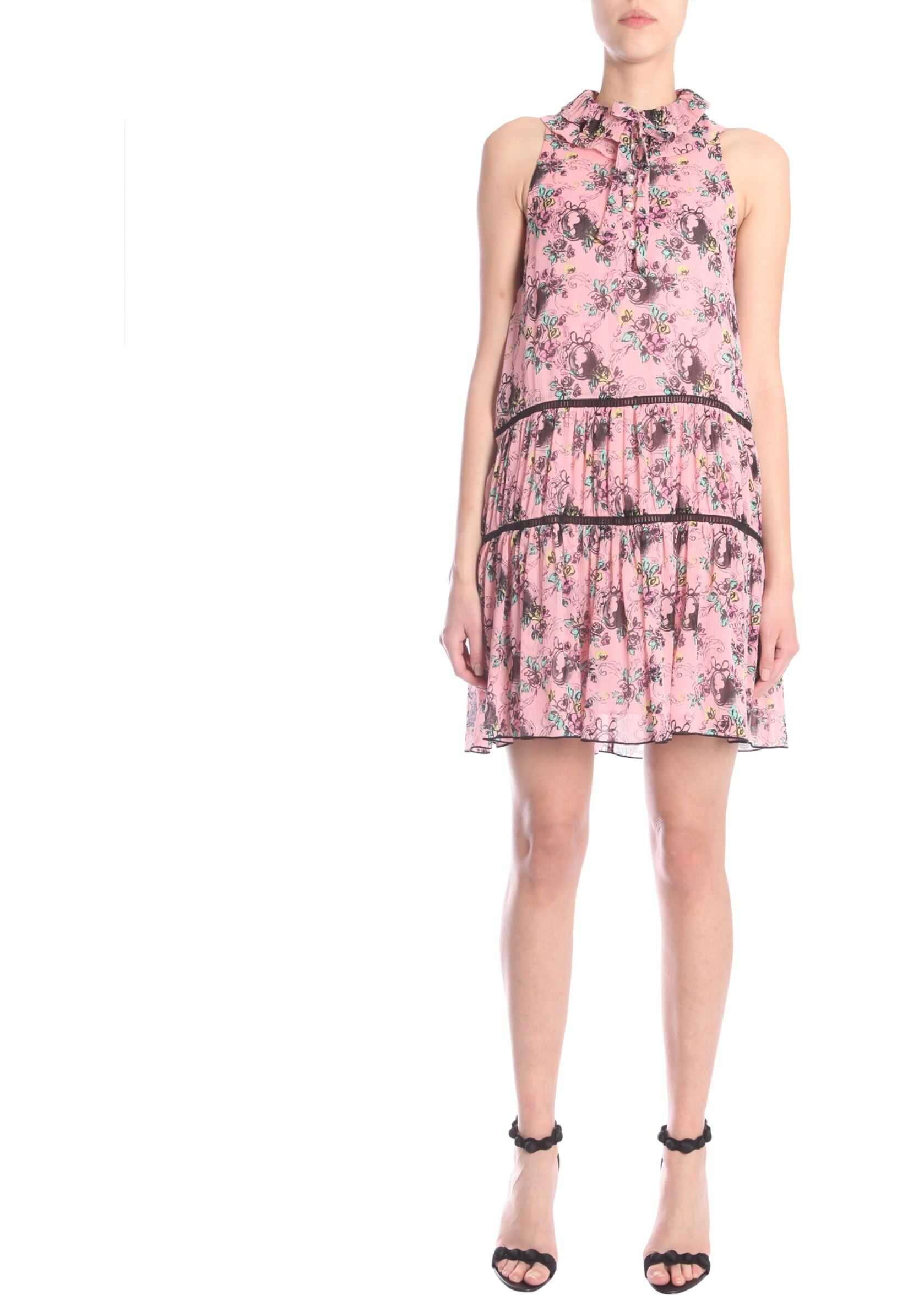 LOVE Moschino Sleeveless Dress PINK