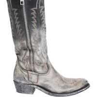 Cizme scurte Texano Golden Zip Femei