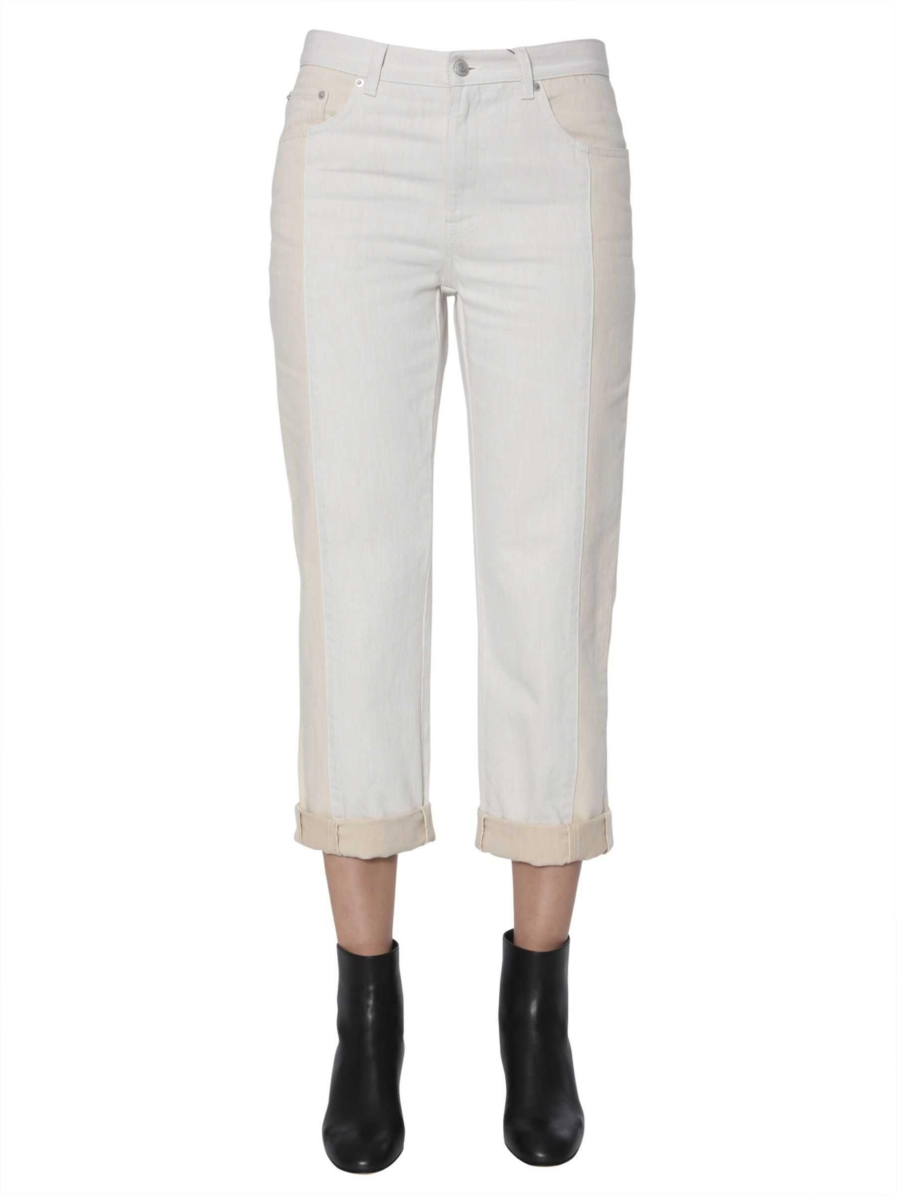 Alexander McQueen Panel Jeans POWDER
