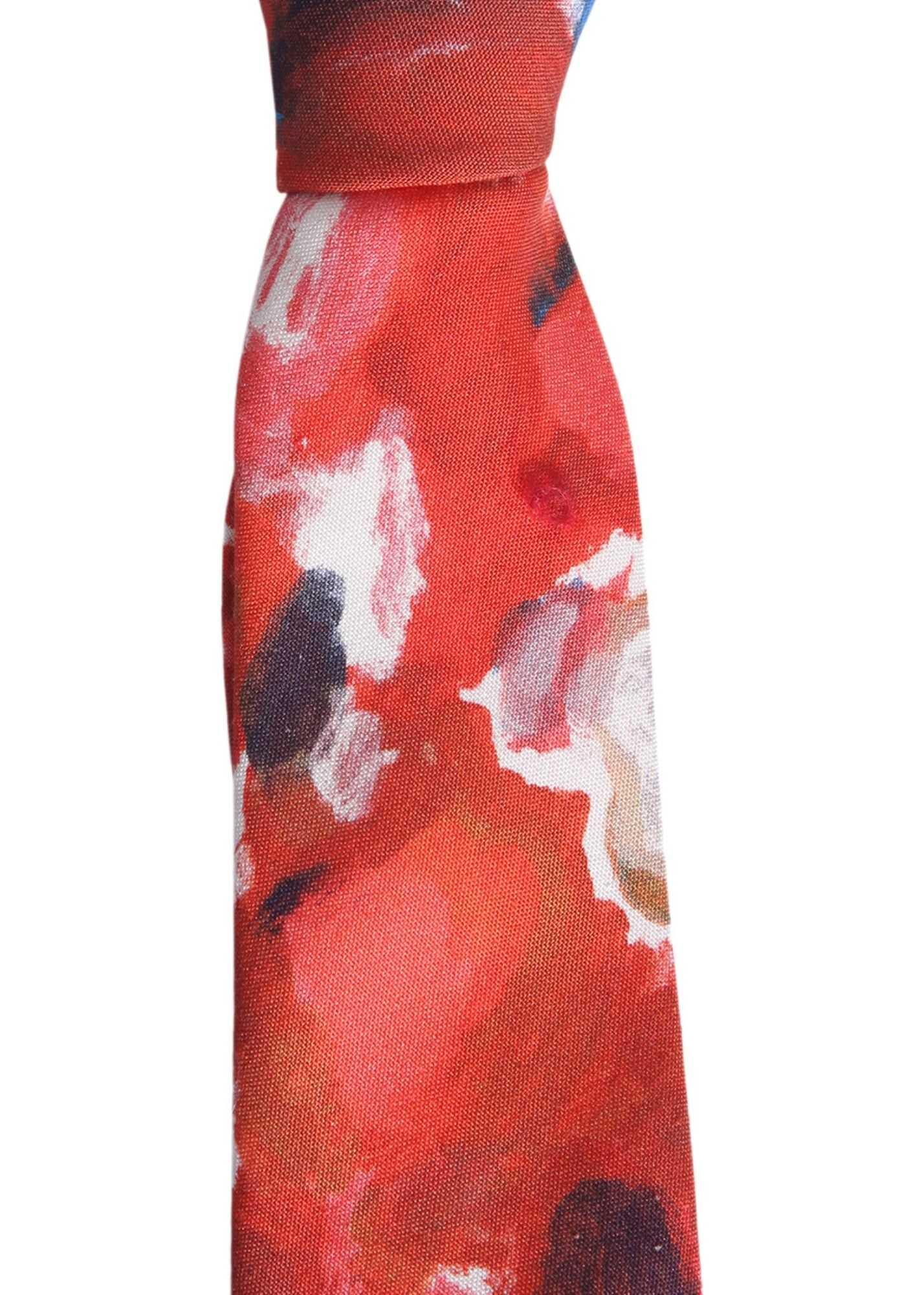 Alexander McQueen Palette Tie RED