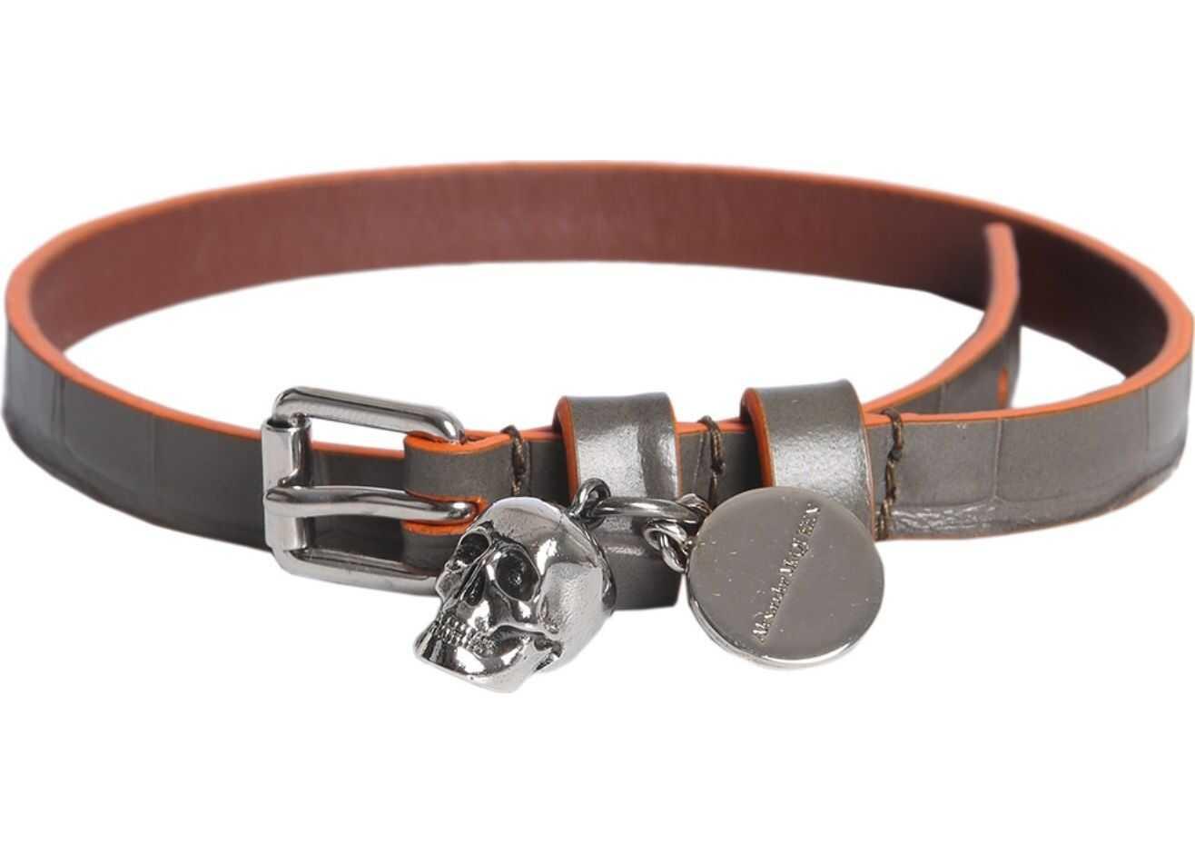 Alexander McQueen Skull Bracelet MULTICOLOUR