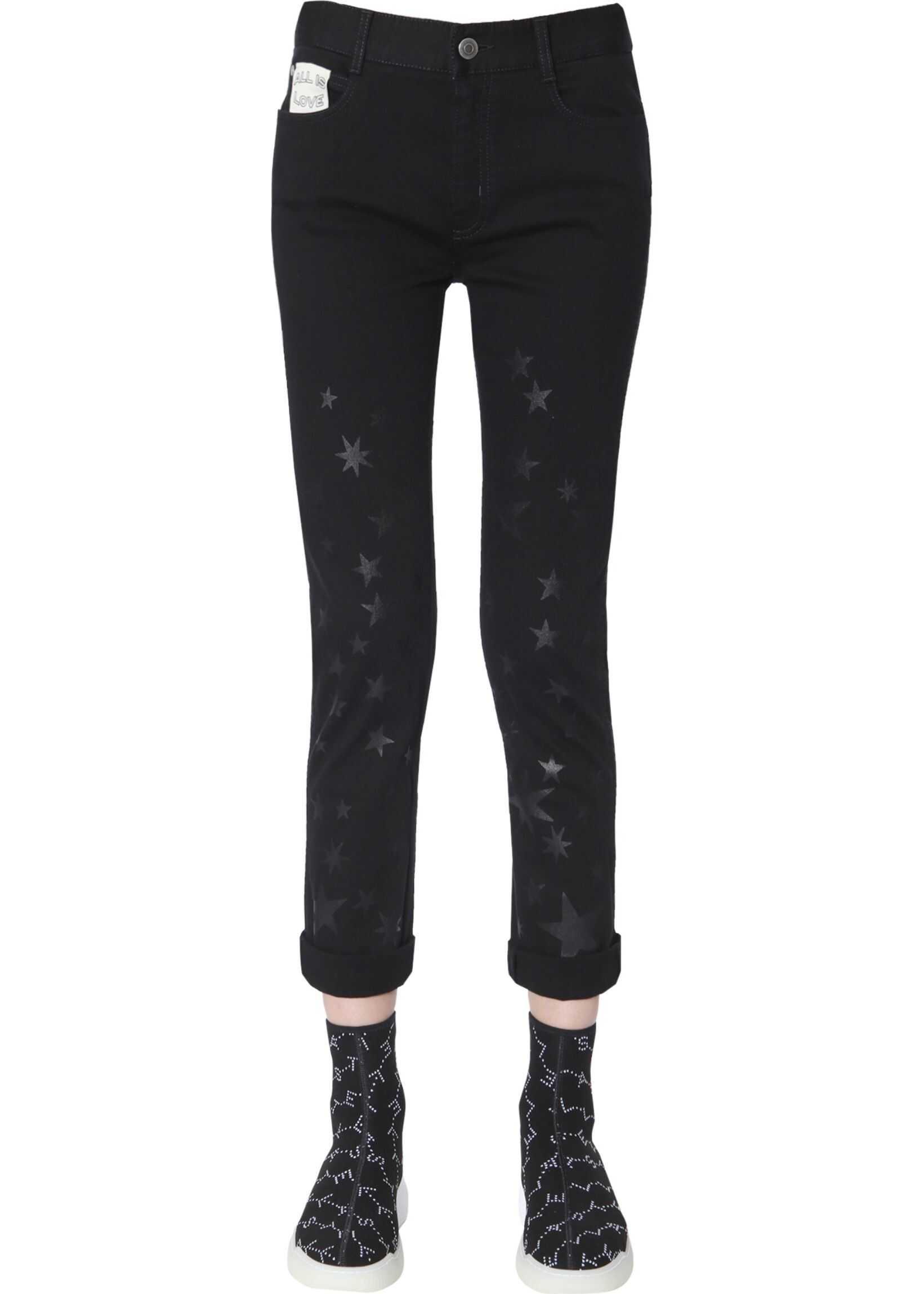 adidas by Stella McCartney Boyfriend Jeans BLACK