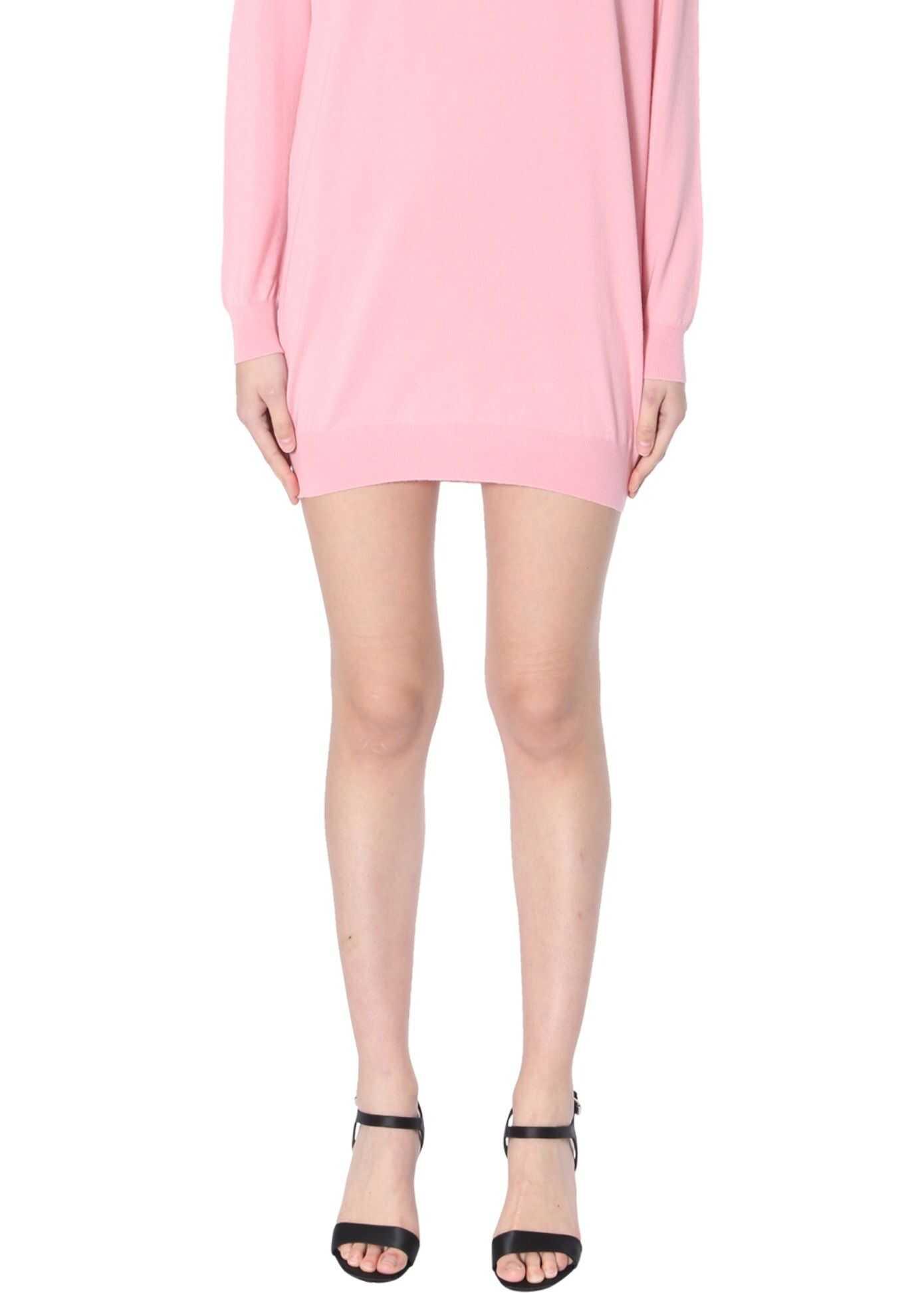 Moschino Knitted Dress PINK