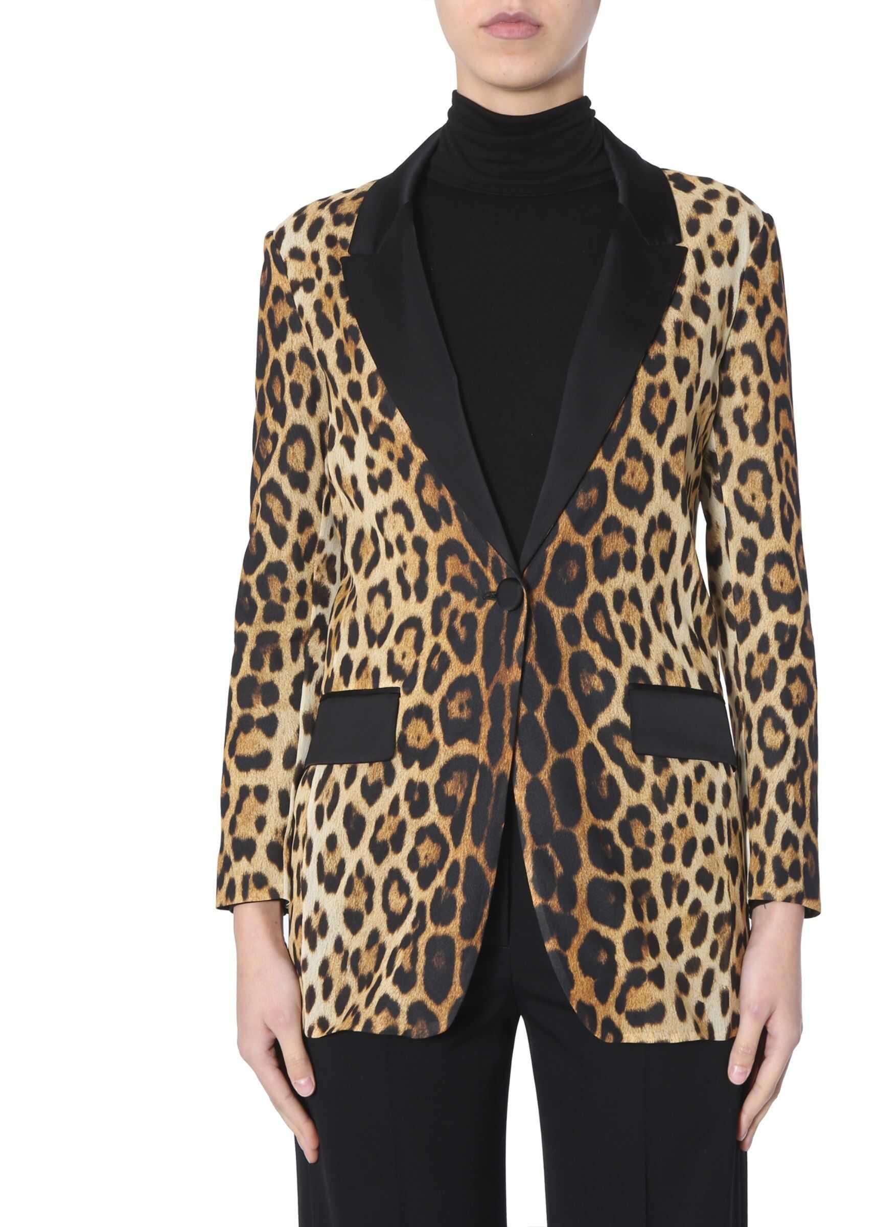Moschino Silk Jacket MULTICOLOUR