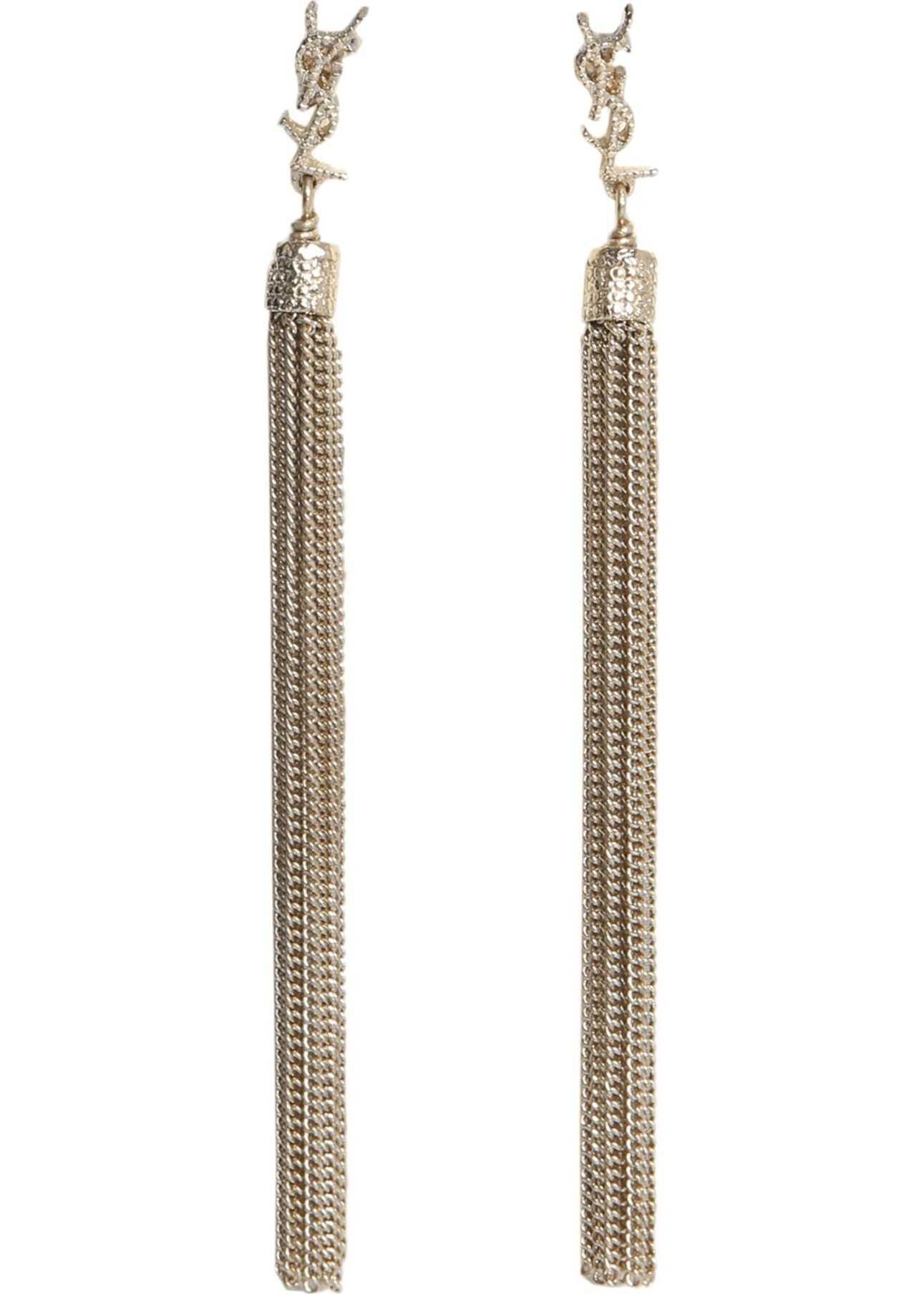 Saint Laurent Loulou Earrings GOLD