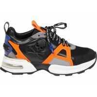 Tenisi & Adidasi Black Runner Skull Sneakers Barbati