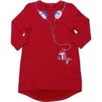 Rochii Red Trompe-L'oeil Dress* Fete