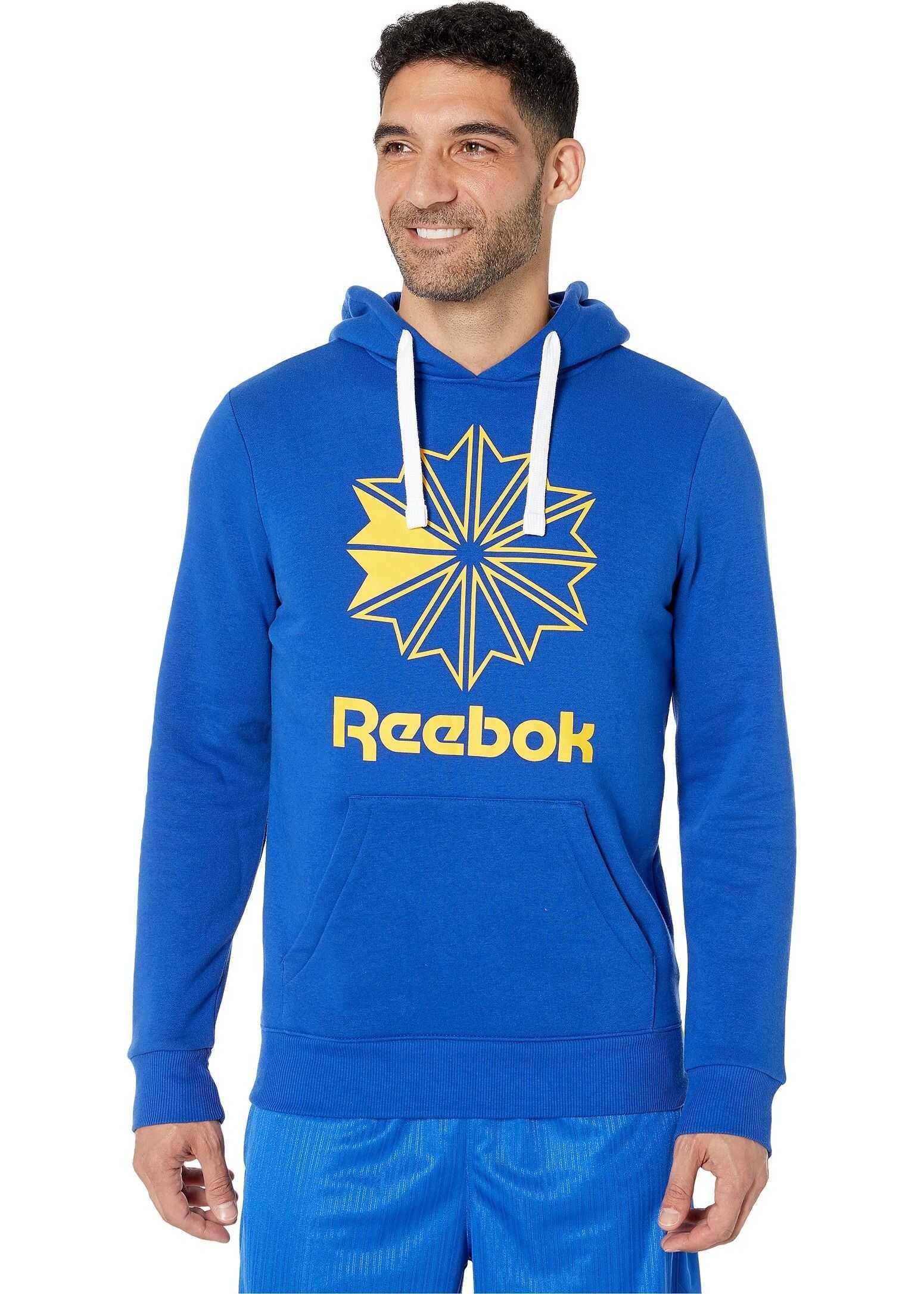 Reebok Classics Big Logo Hoodie Cobalt