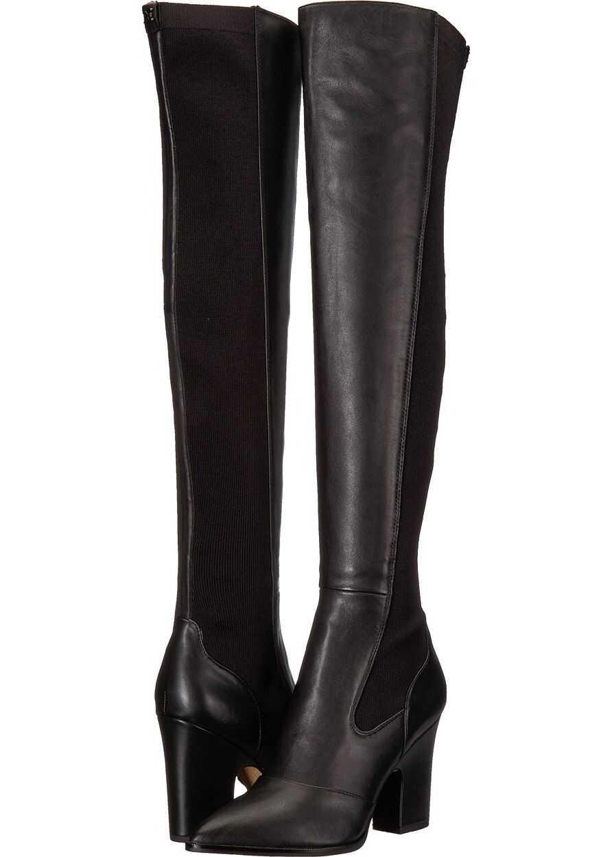 Sam Edelman Natasha Black Modena Calf Leather