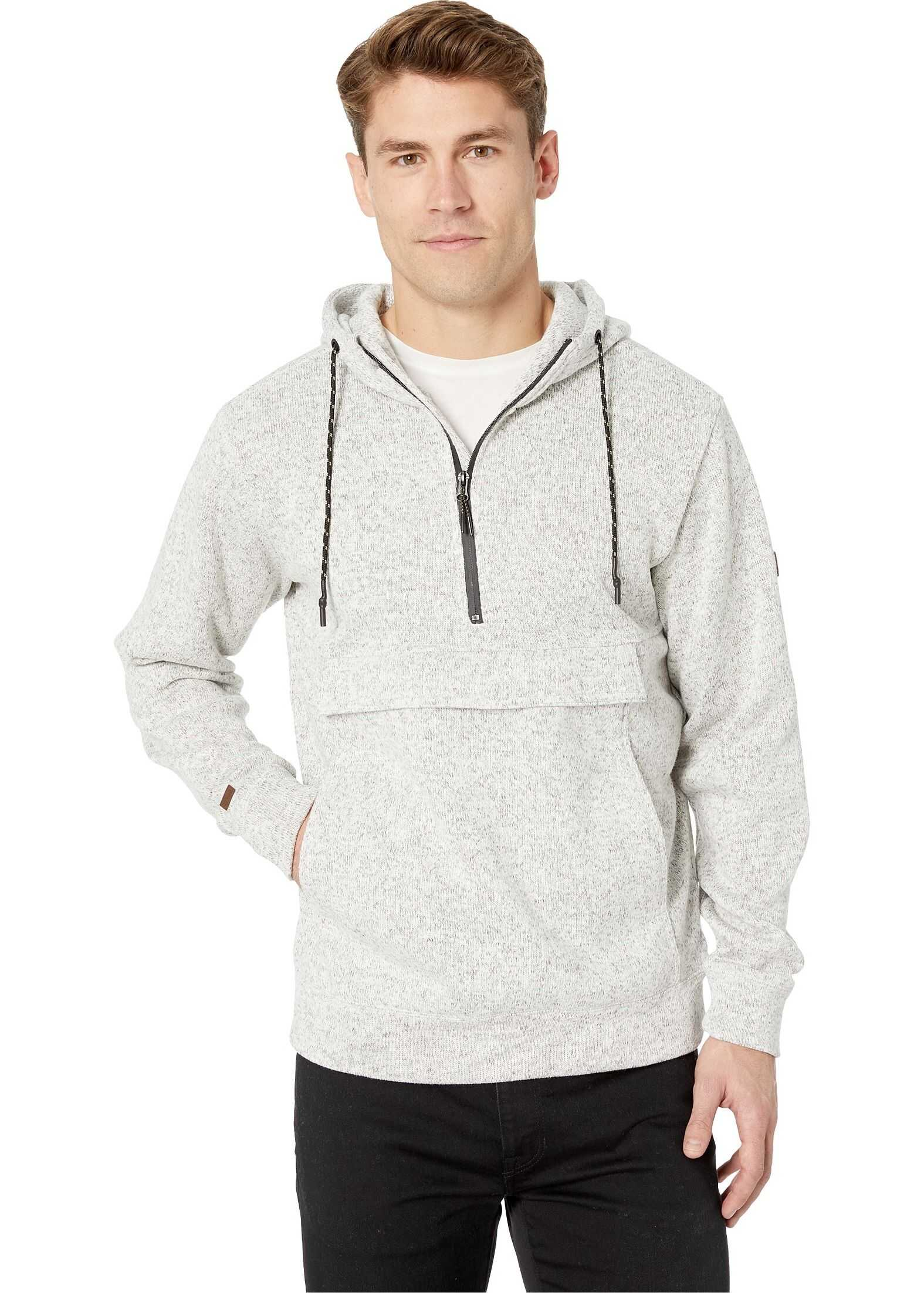 Billabong Boundary Pullover Hoodie Grey Heather