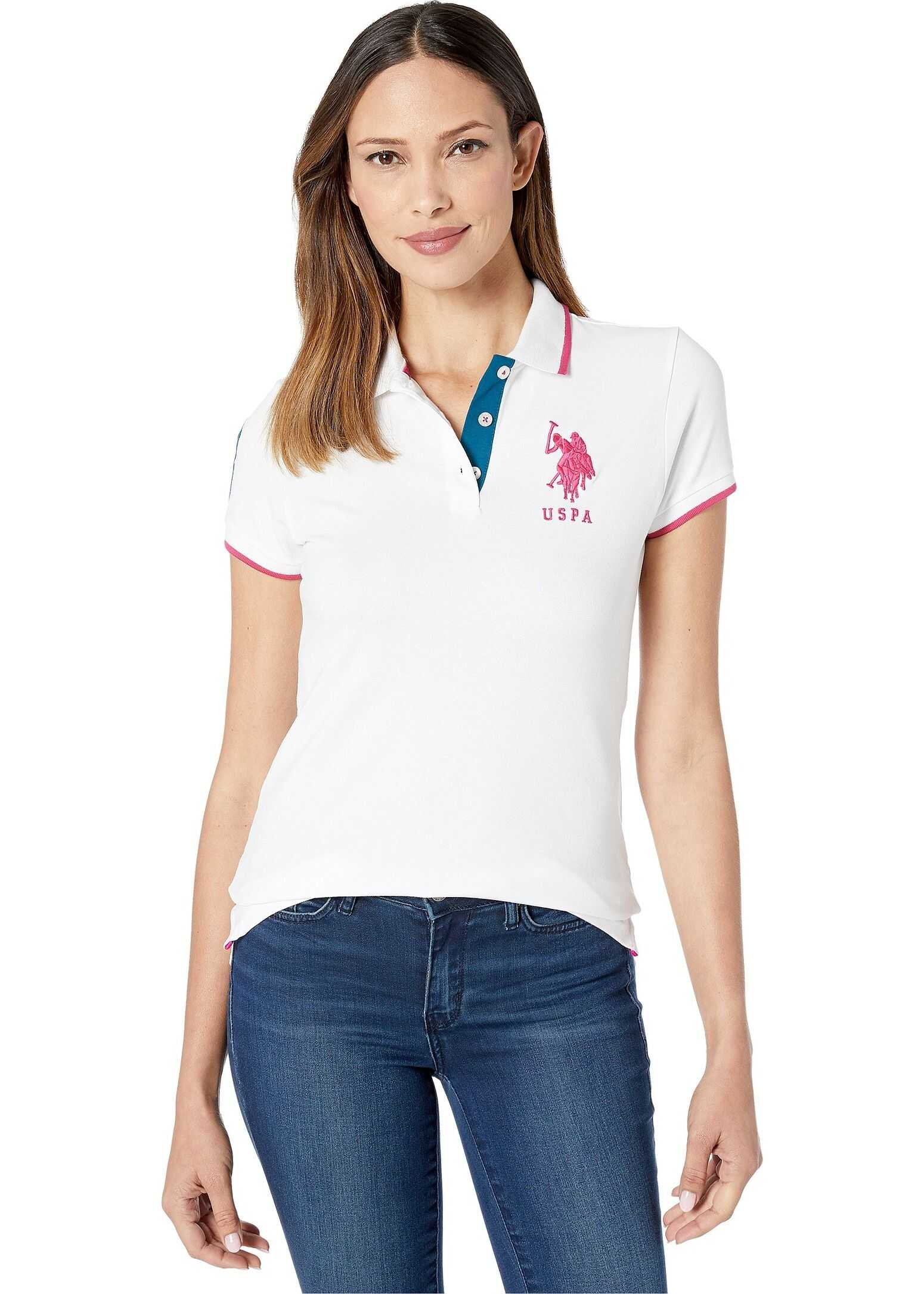 U.S. POLO ASSN. Triple Crown Polo Fresh White