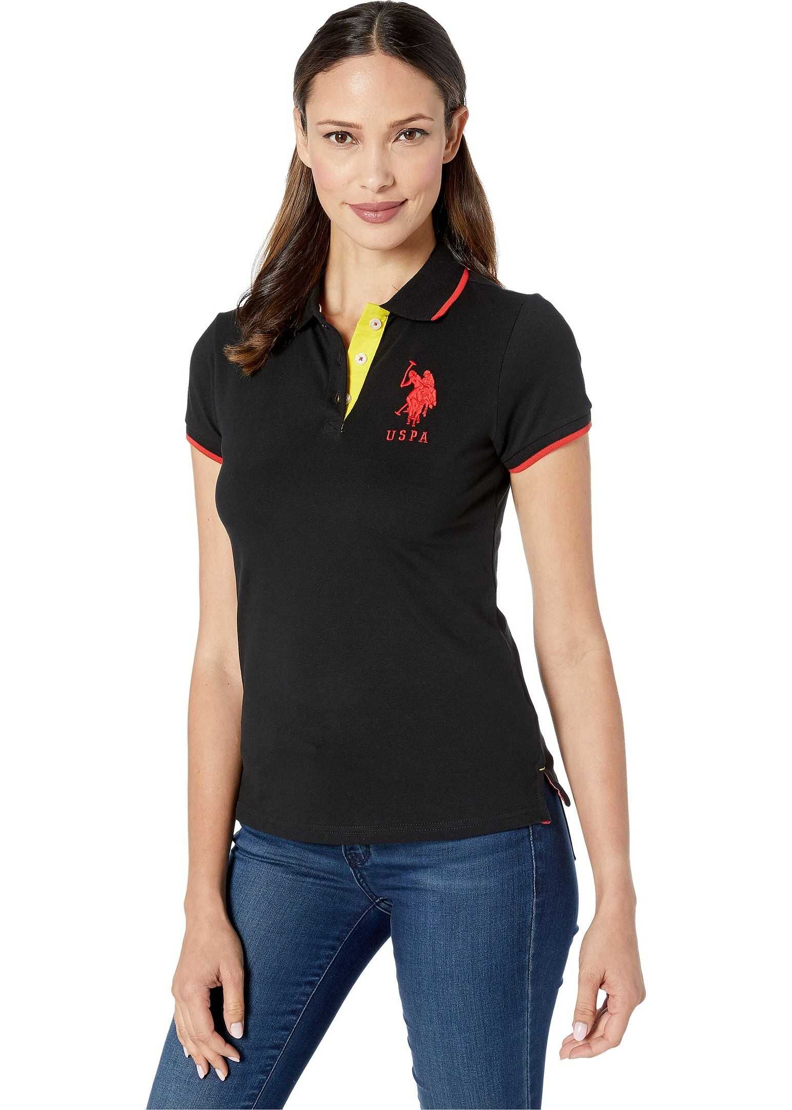 U.S. POLO ASSN. Triple Crown Polo New Black