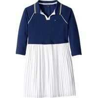 Rochii Pleated Polo Dress (Big Kids) Fete