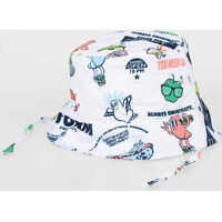 Caciuli & Palarii Printed Fishing Hat Fete