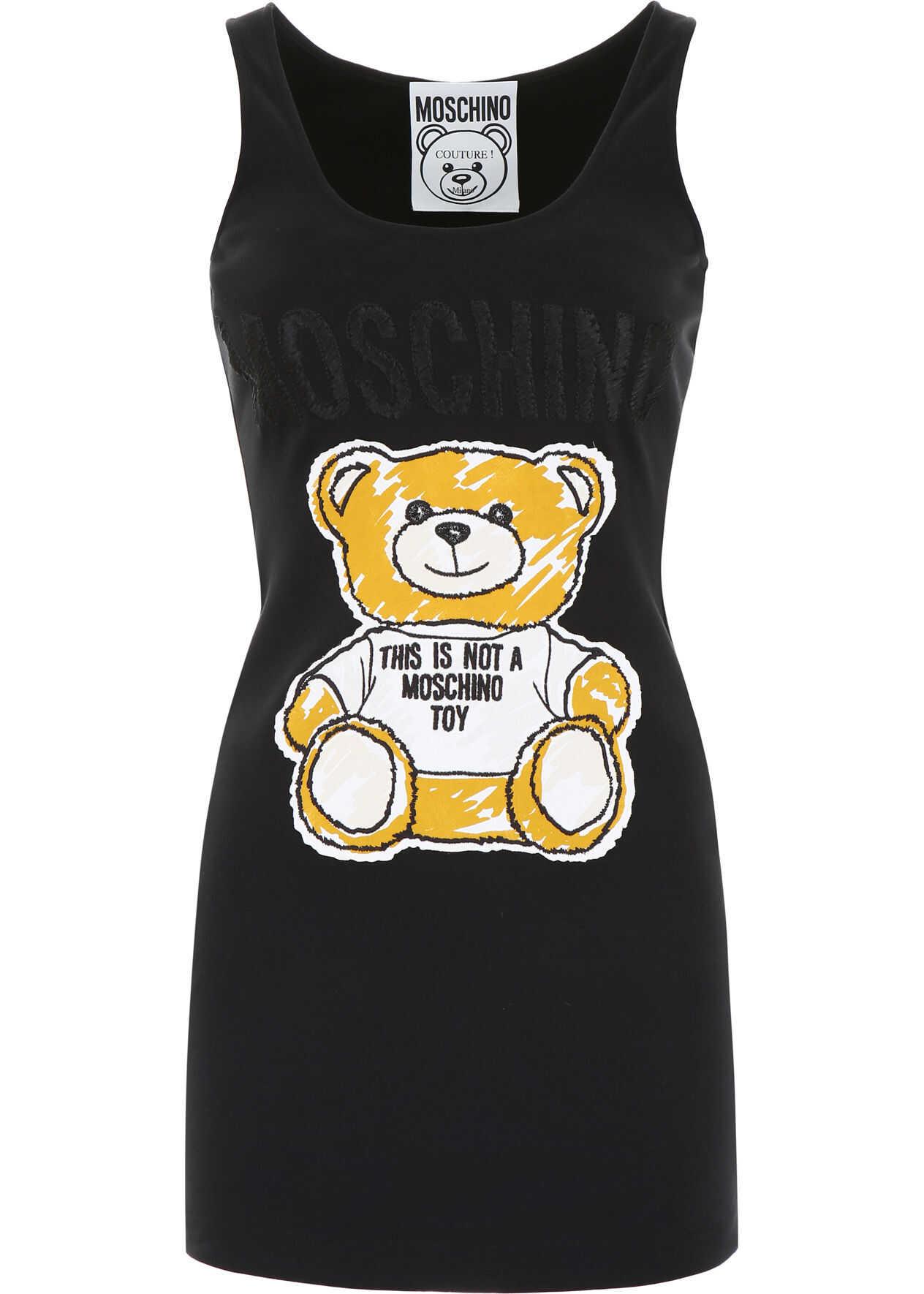 Moschino Teddy Bear Dress BLACK