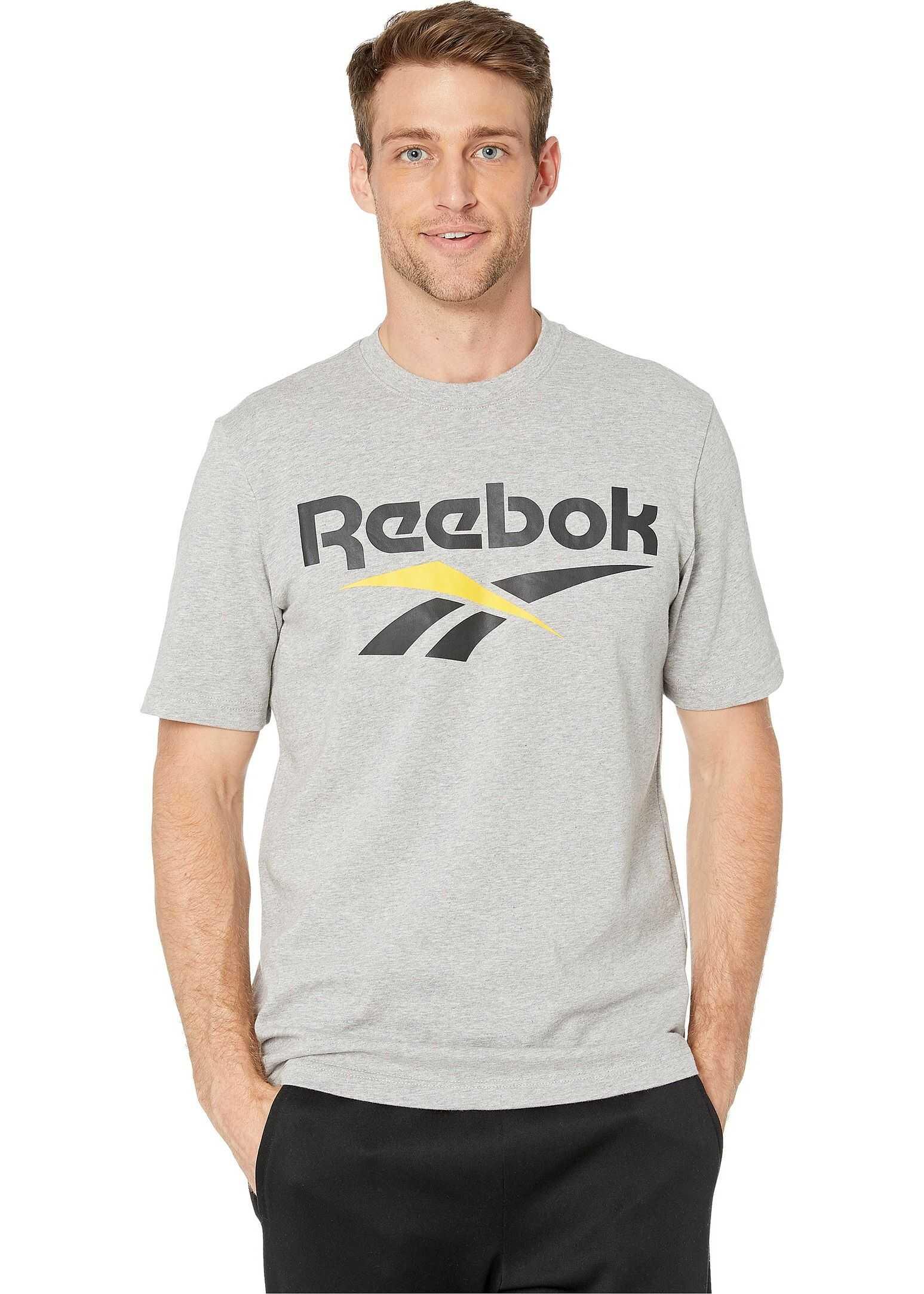 Reebok Classics Vector Tee Medium Grey Heather/Black