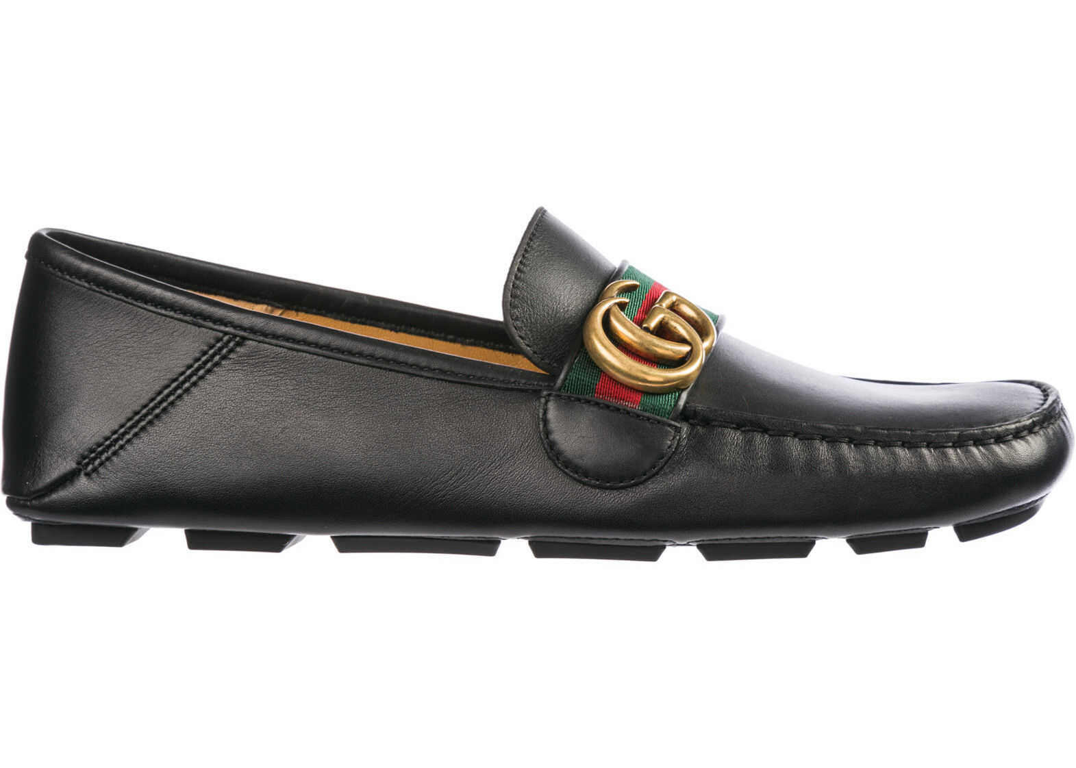 Gucci Loafers Moccasins Black