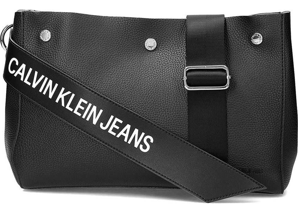 Genti de Mana Dama Calvin Klein Jeans Logo Banner Shoulder Bag