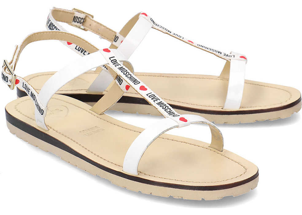 LOVE Moschino Flat Logo Biały