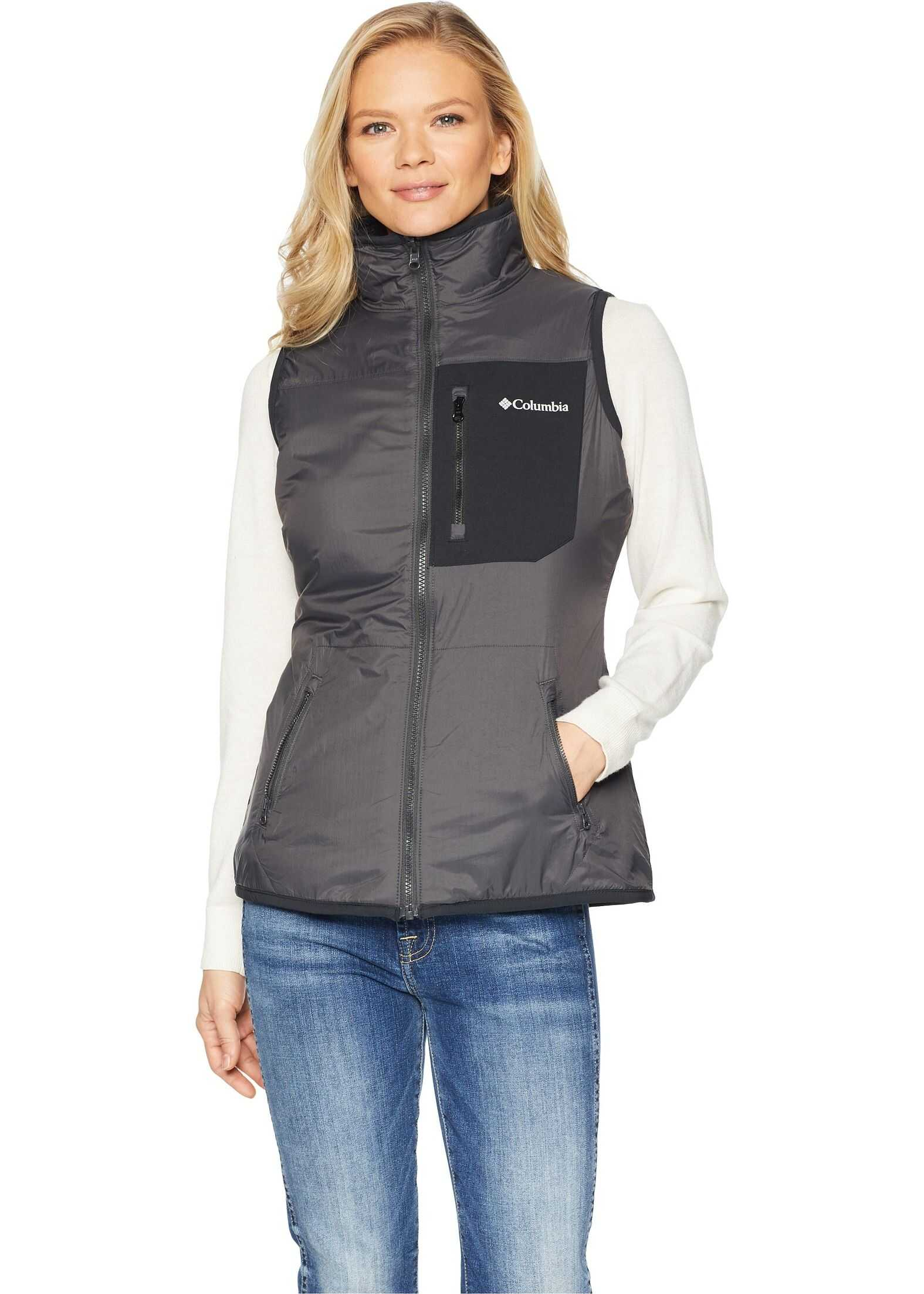 Columbia Bryce Canyon™ Reversible Vest Skark/Black/Shark Sherpa