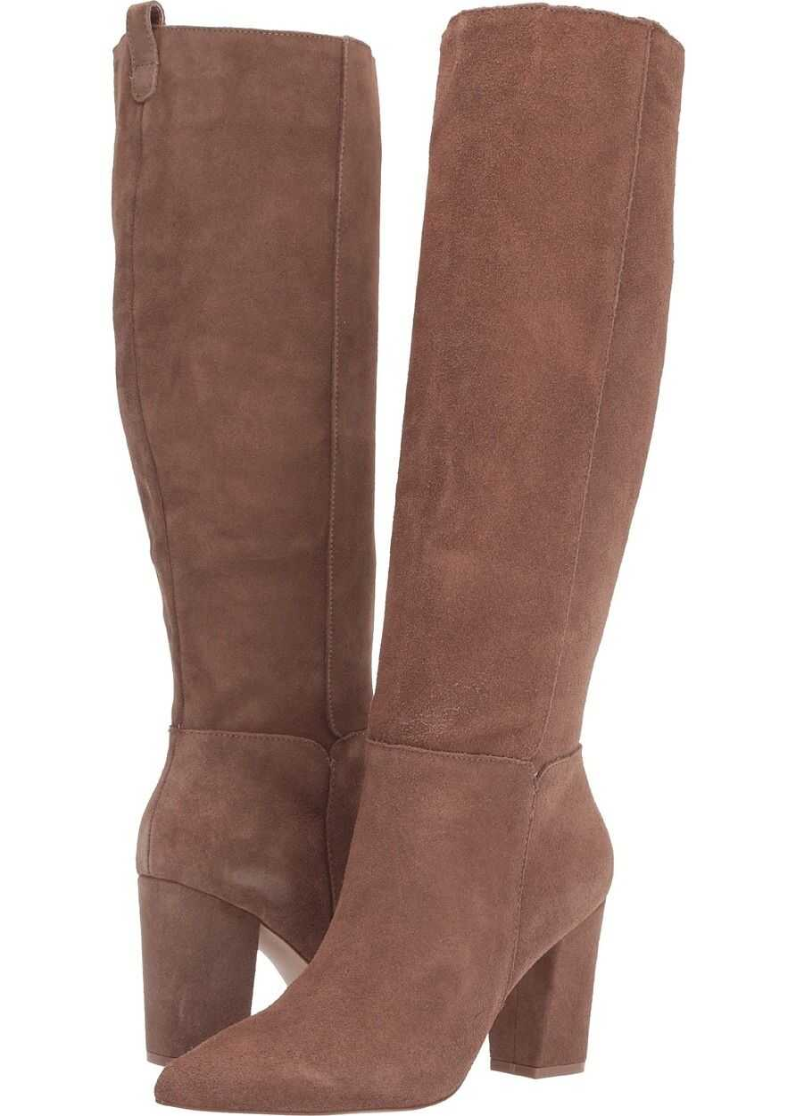 Steve Madden Raddle To the Knee Boot Tan Suede