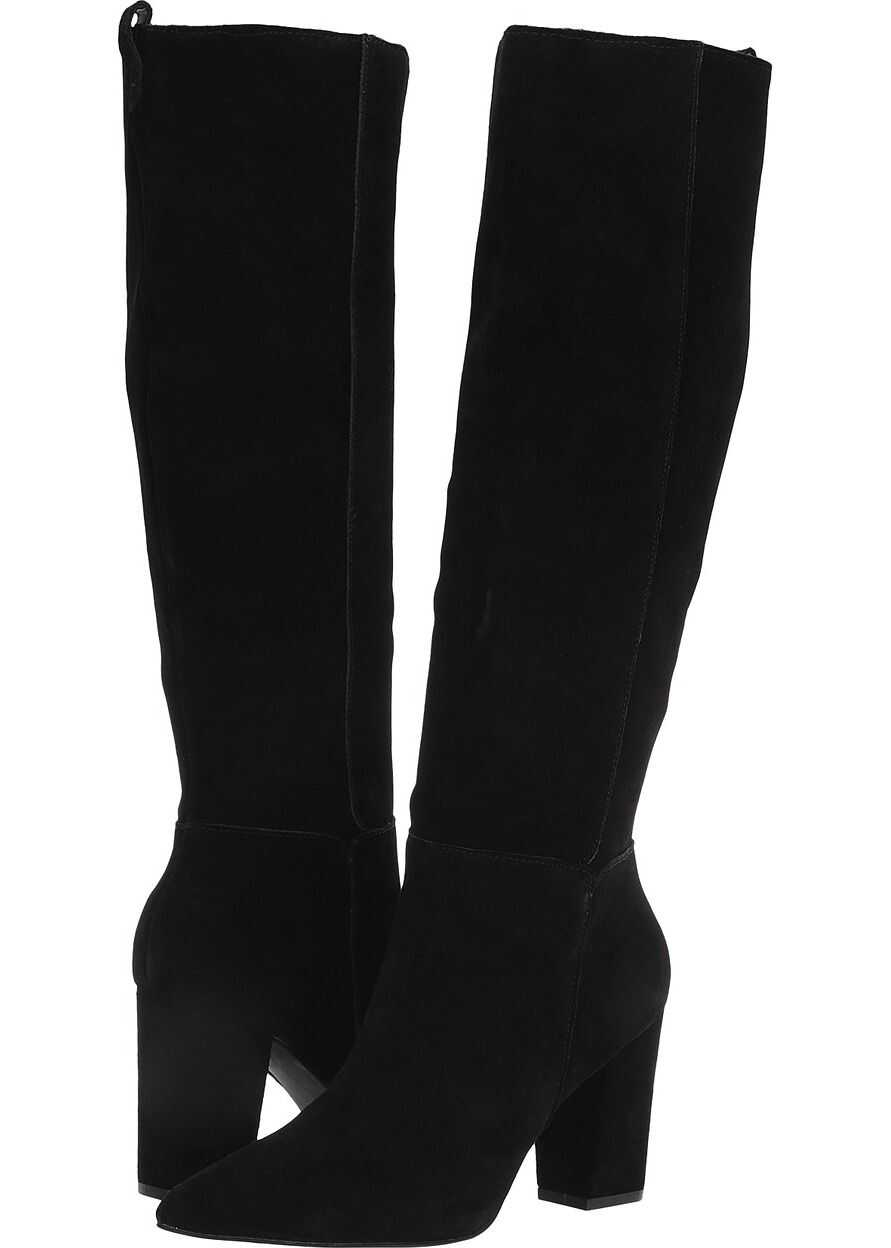 Steve Madden Raddle To the Knee Boot Black Suede